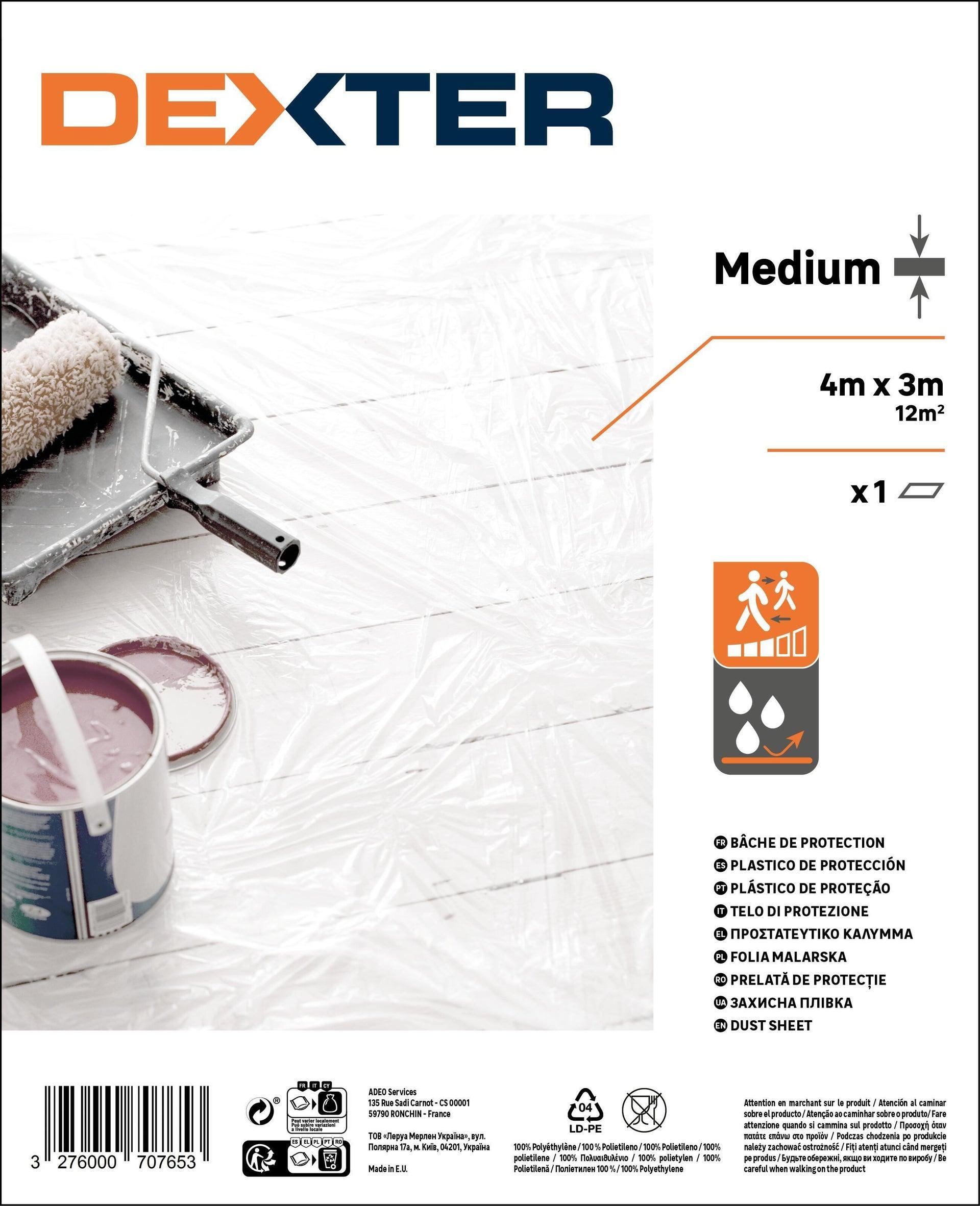 Telo di protezione DEXTER 4 X 3 m traslucido - 6
