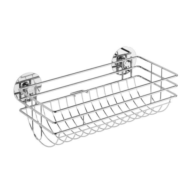 Porta rotolo carta assorbente silicone WENKO Turbo-Loc in metallo - 1