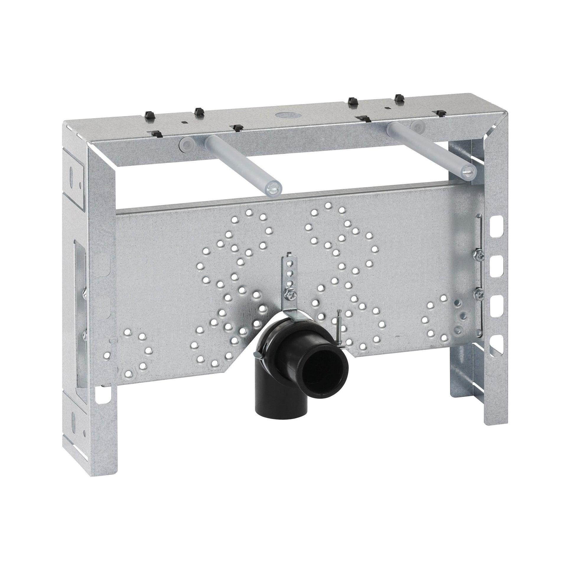 Staffa per telaio wc in acciaio