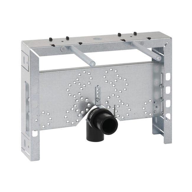 Staffa per telaio wc in acciaio - 1