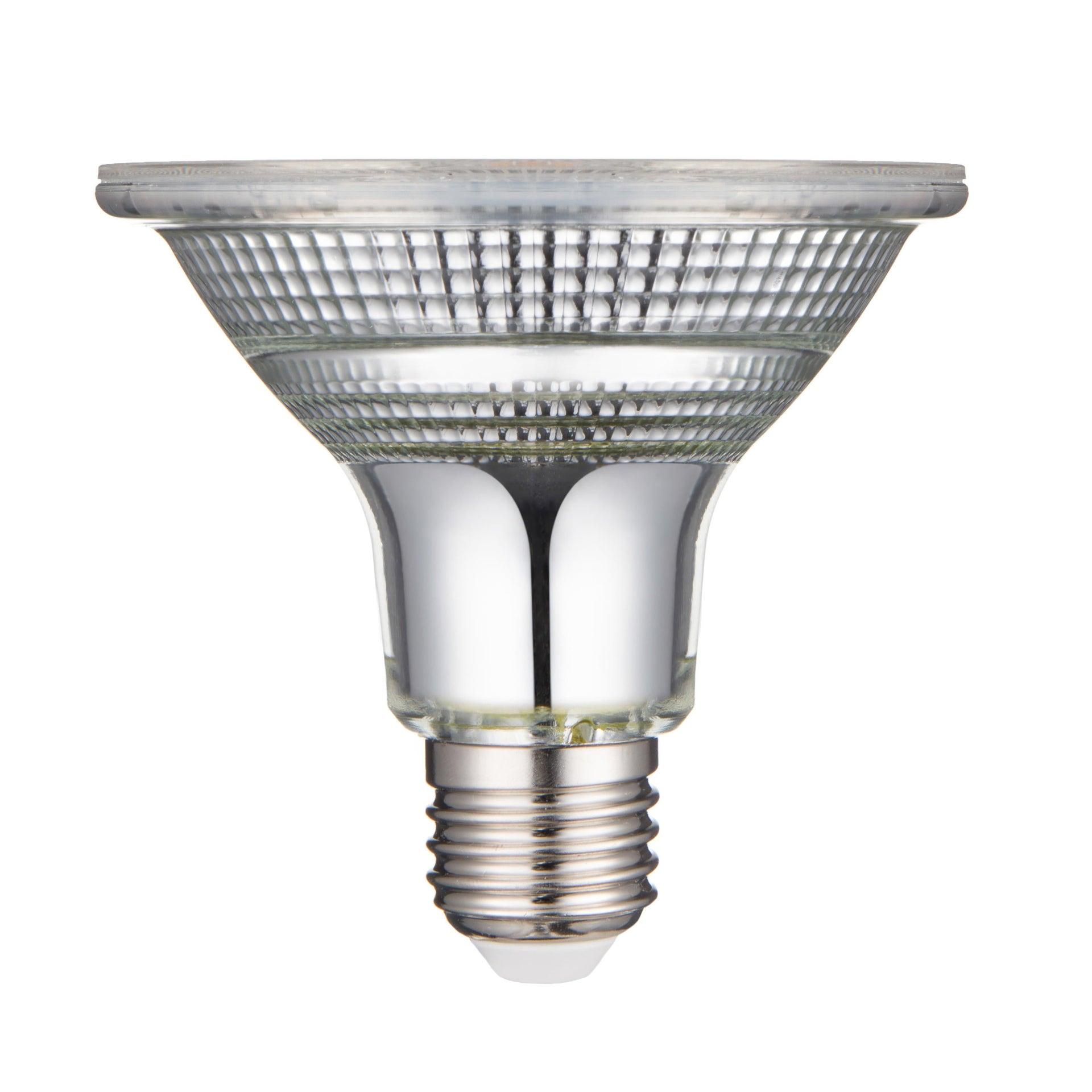 Lampadina LED, E27, Faretto, Trasparente, Luce calda, 10.5W=875LM (equiv 100 W), 30° , LEXMAN - 5