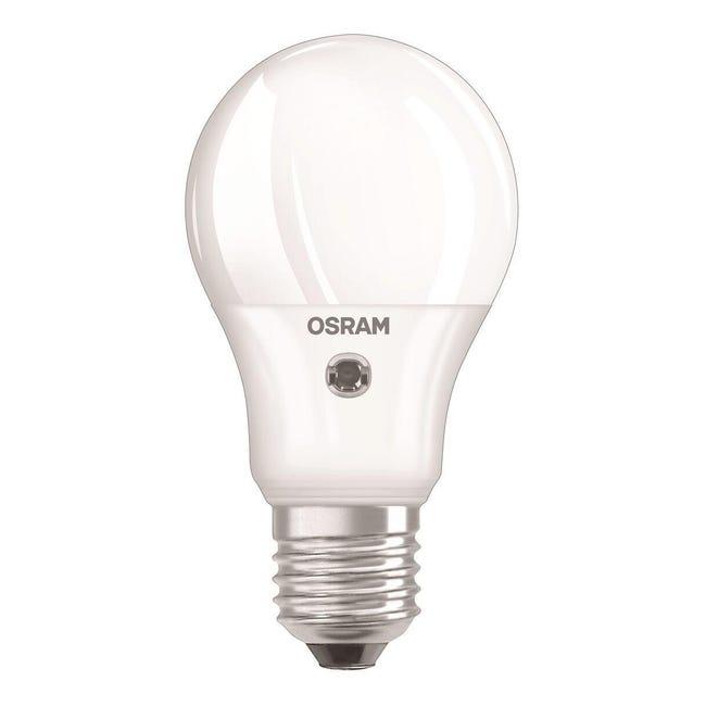 Lampadina LED, E27, Goccia, Opaco, Luce calda, 5.5W=470LM (equiv 40 W), 200° , OSRAM - 1