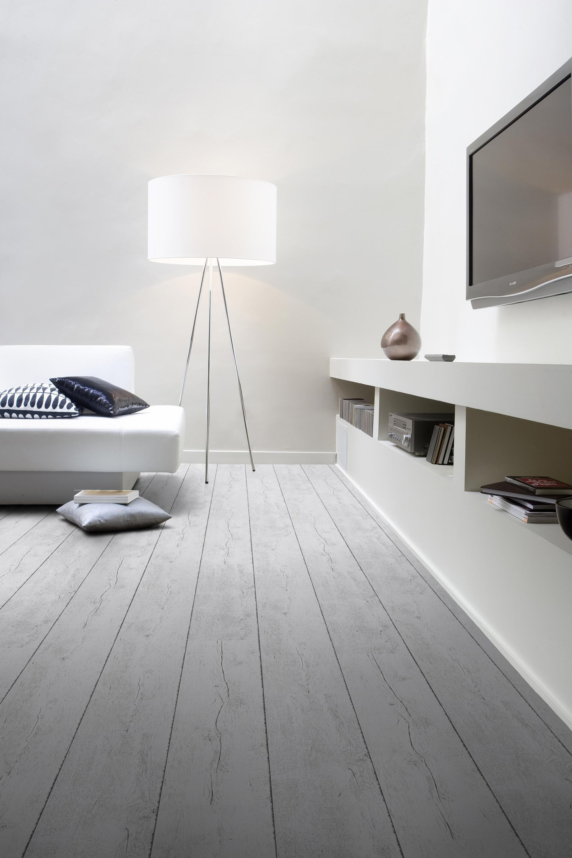 Pavimento PVC adesivo White Pecan Sp 2 mm bianco - 4