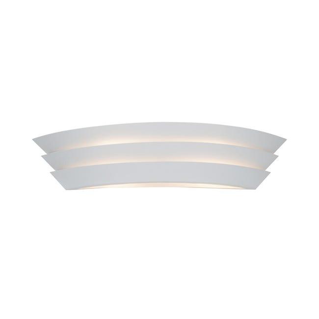 Applique glamour Ship bianco, in metallo, 60x60 cm, 2 luci BRILLIANT - 1