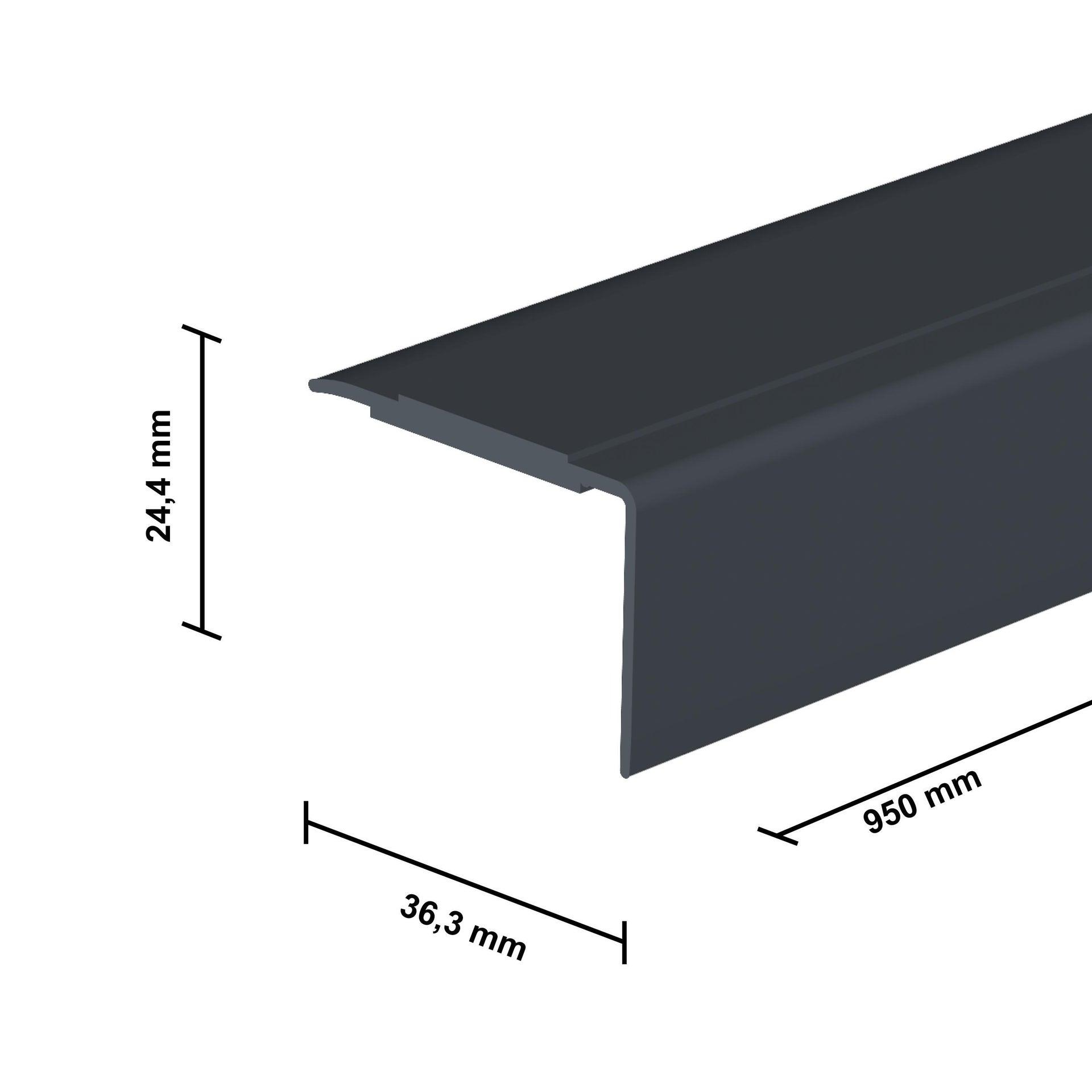 Profilo soglia simple-fix 38 36 mm x 95 cm - 2