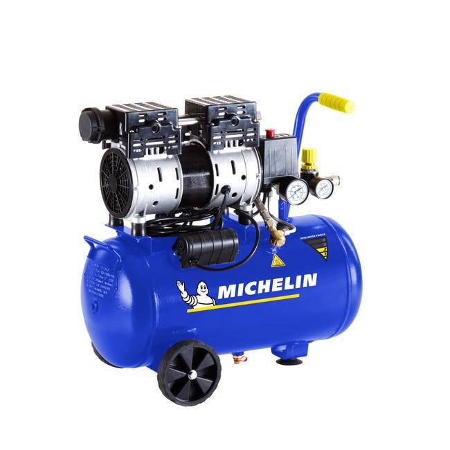 Compressore MICHELIN MX 24-1, 1 hp, 8 bar, 24 L - 1