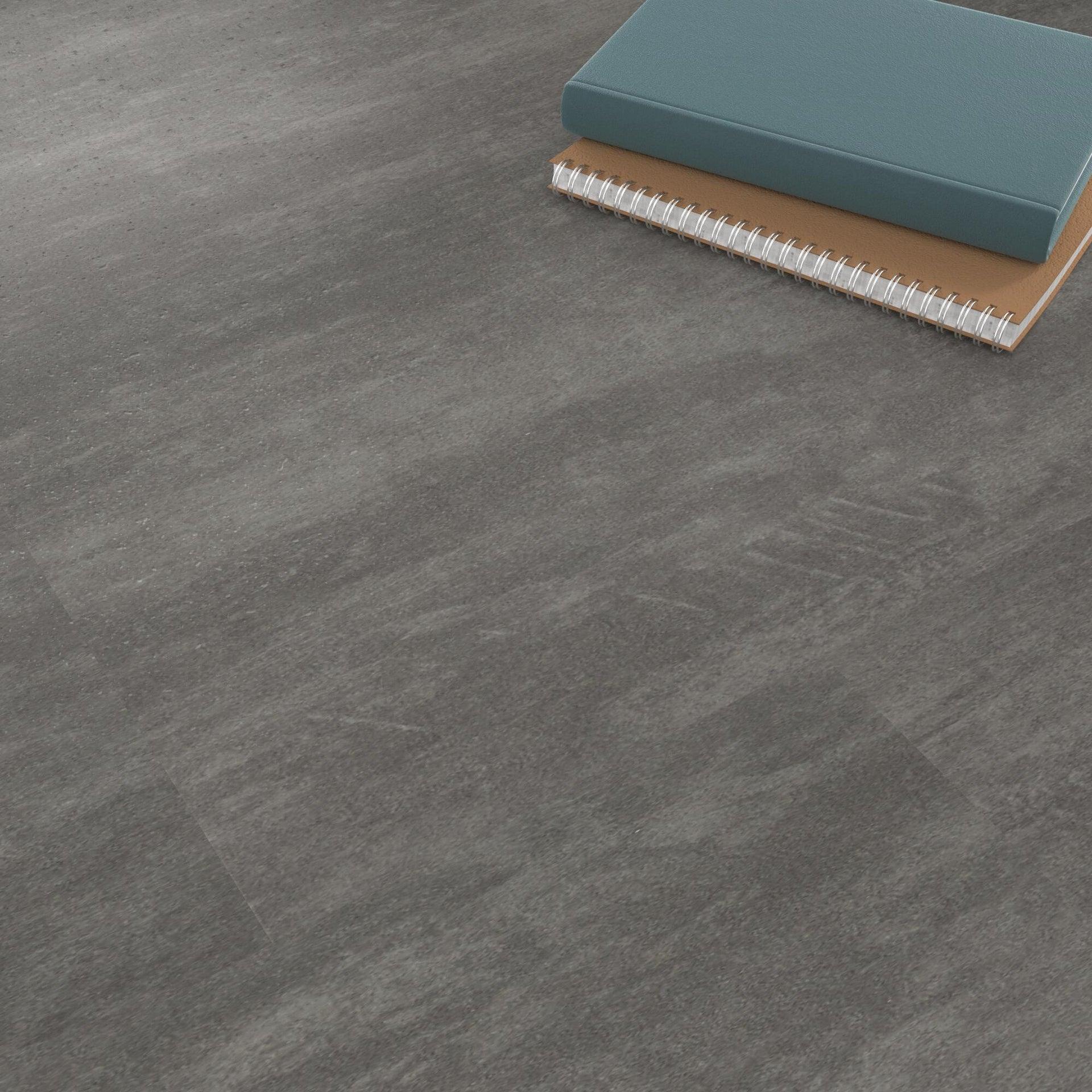 Pavimento PVC incastro Tolu Sp 4 mm grigio / argento - 8