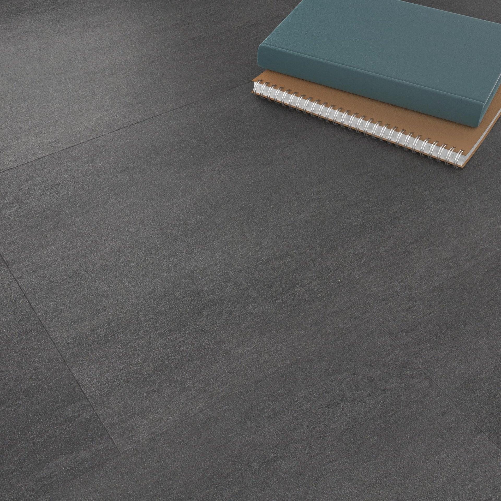 Pavimento PVC flottante clic+ Art For New Sp 4.2 mm nero - 4