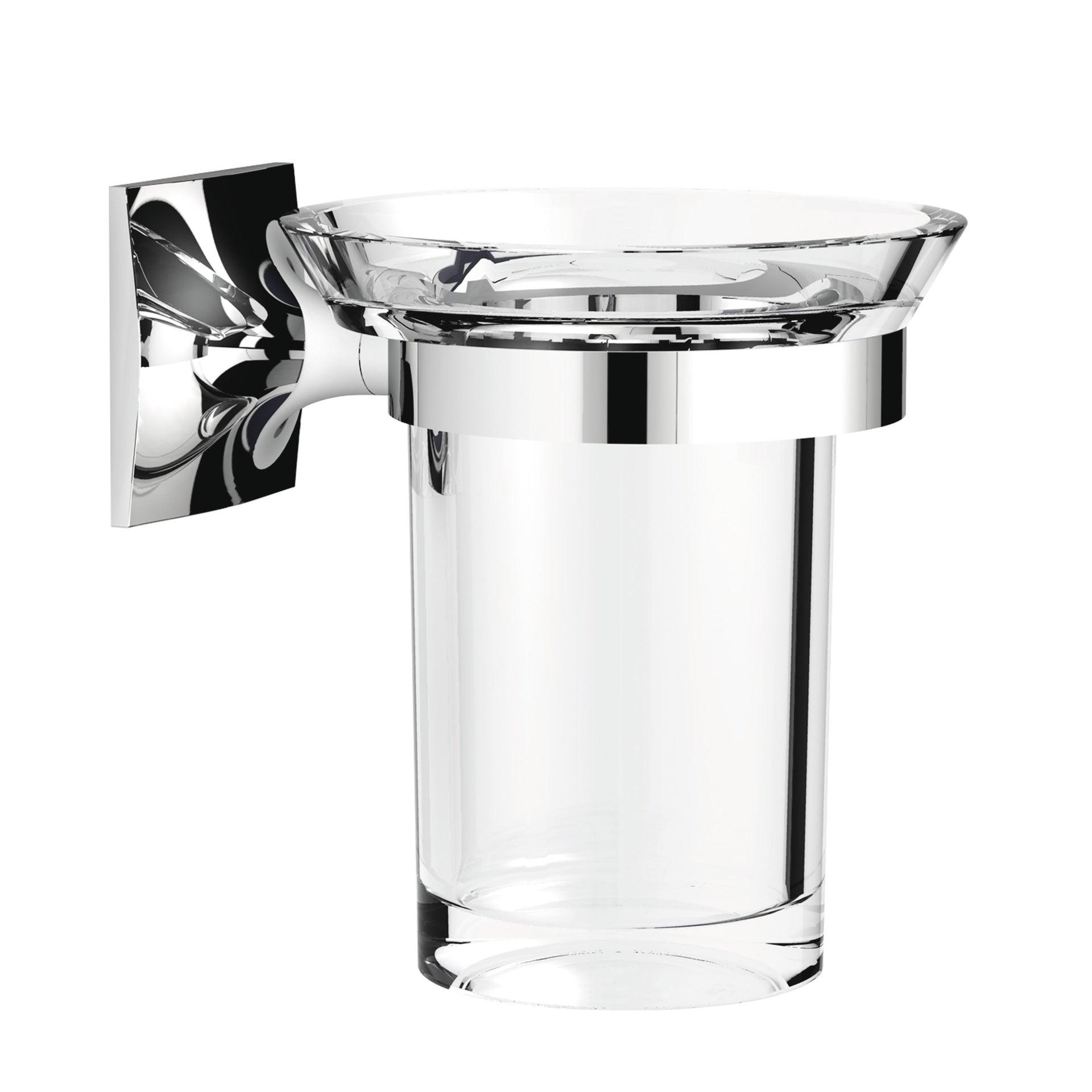 Bicchiere porta spazzolini Wizard in acrilico trasparente