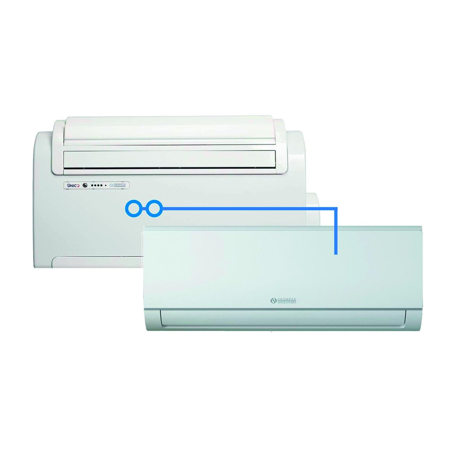 Condizionatore senza unità esterna Dualsplit OLIMPIA SPLENDID 9000