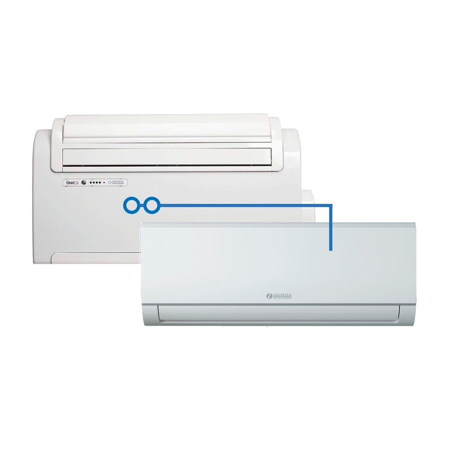Climatizzatore dualsplit OLIMPIA SPLENDID Unico 8530 BTU - 1