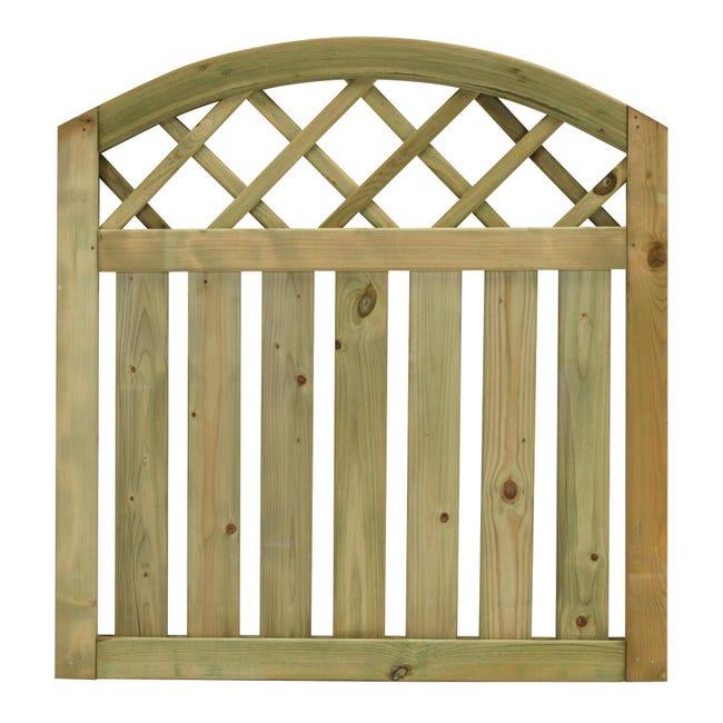 Cancelletto Cancello ad onda Stisa in legno - 1