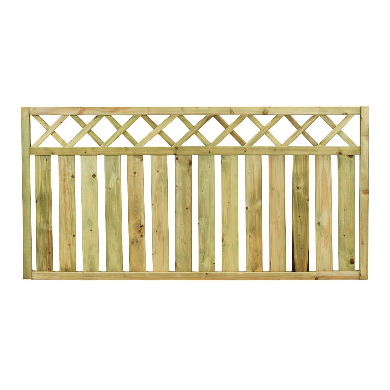 Recinzione Recinzione Stisa in legno L 180 x H 90 x P 4.5 cm