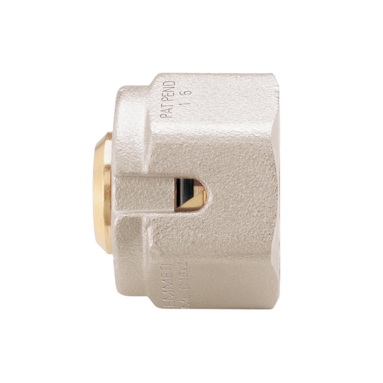 Adattatore per tubo in rame per collettori Emmeti Ø 20 mm