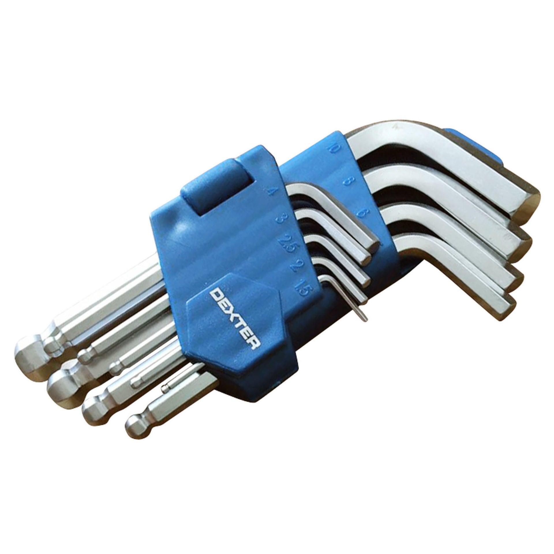 Set di chiave a brugola DEXTER 9 pezzi - 3