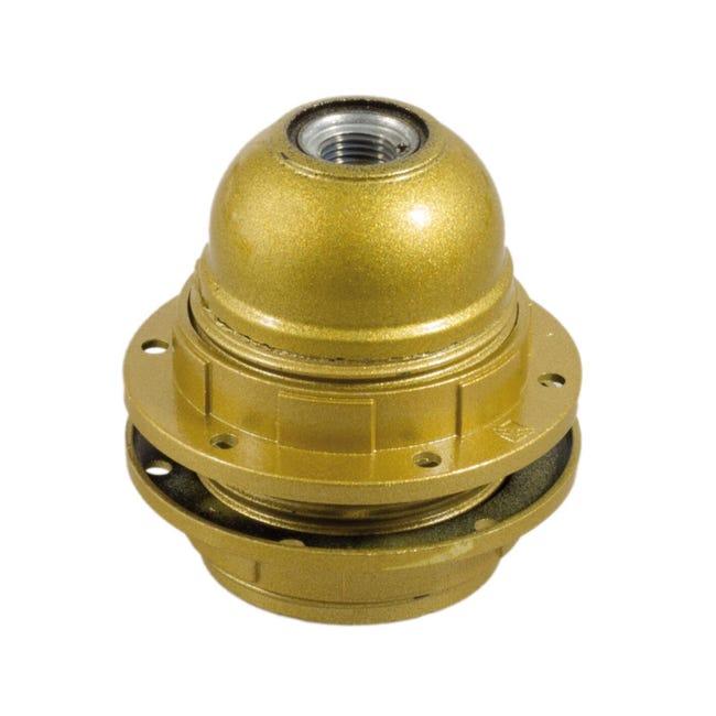 Portalampada E27 oro - 1