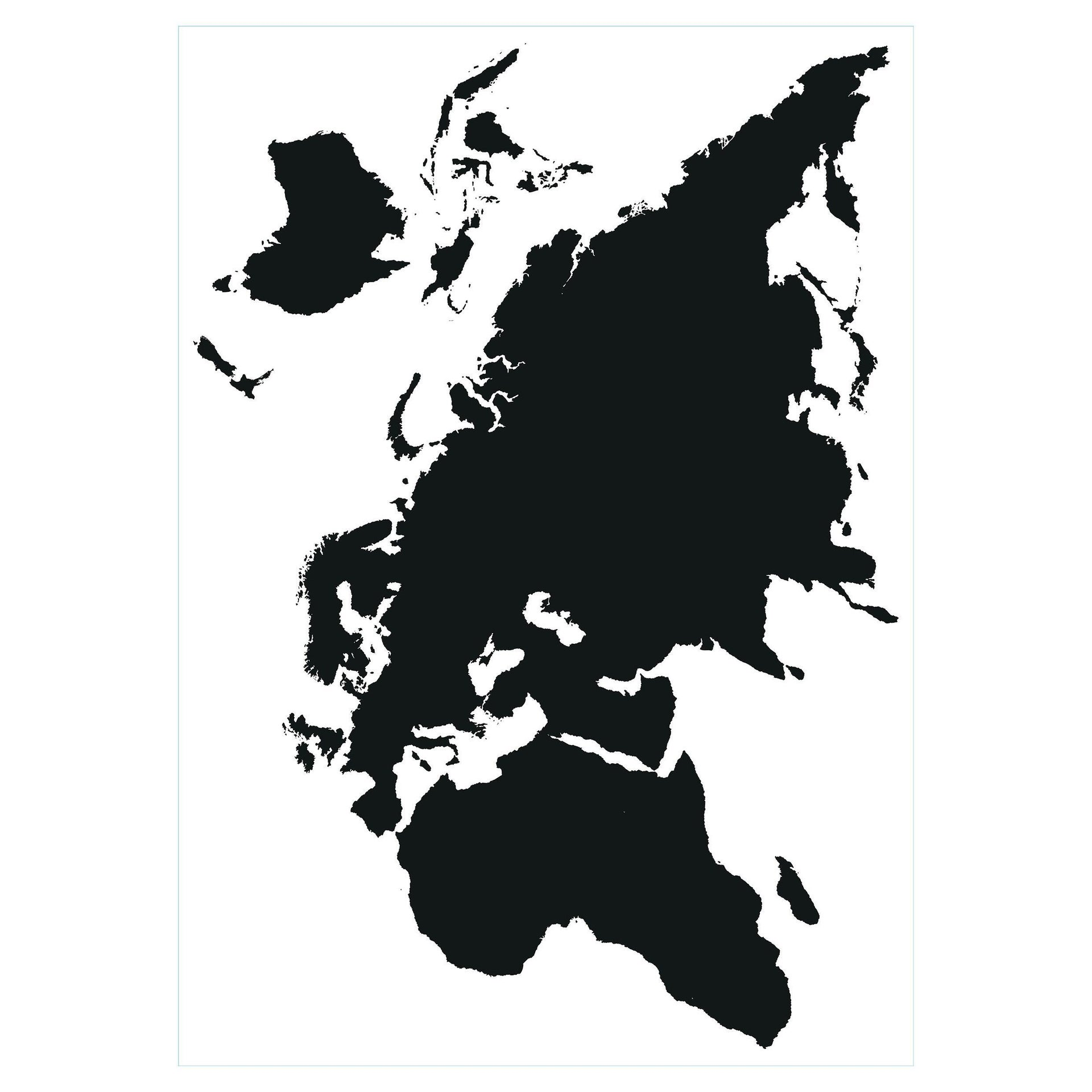 Sticker Mappa 67x94 cm - 3