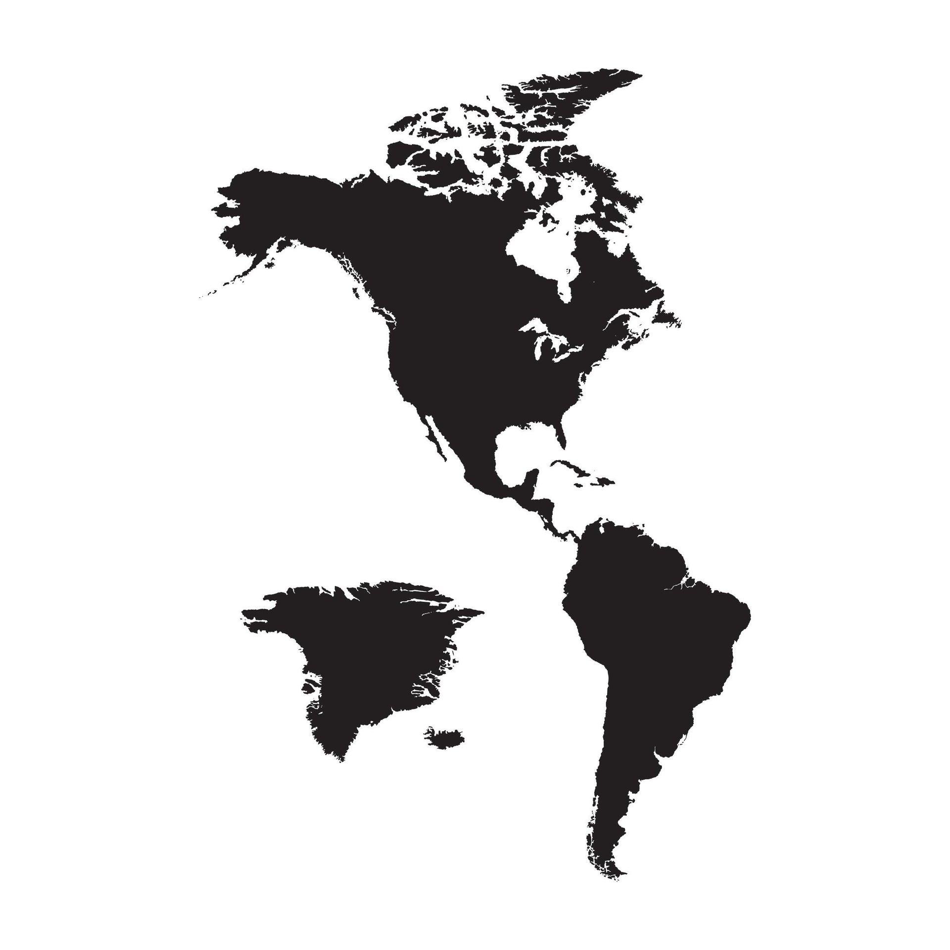 Sticker Mappa 67x94 cm - 5