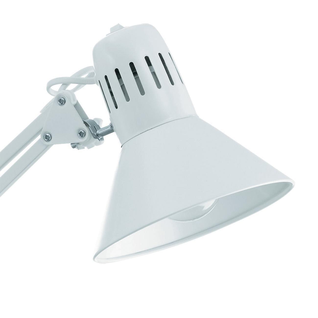Lampada da scrivania Industriale Firmo bianco , in metallo, EGLO - 7