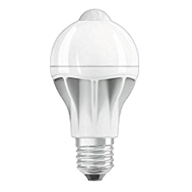 Lampadina LED, E27, Goccia, Opaco, Luce calda, 9W=806LM (equiv 60 W), 200° , OSRAM - 1