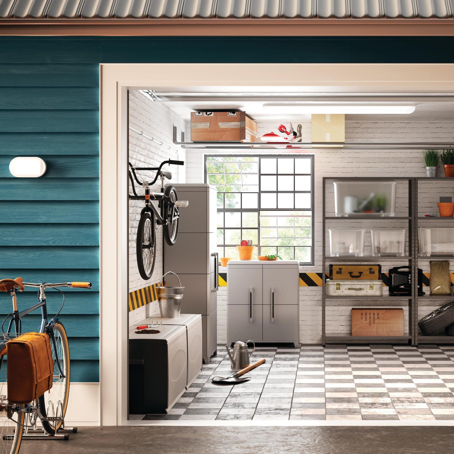 Supporto bicicletta per 2 posti L 370 x H 270 cm - 2