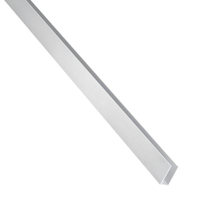 Profilo u STANDERS in alluminio 1 m x 0.8 cm grigio - 1