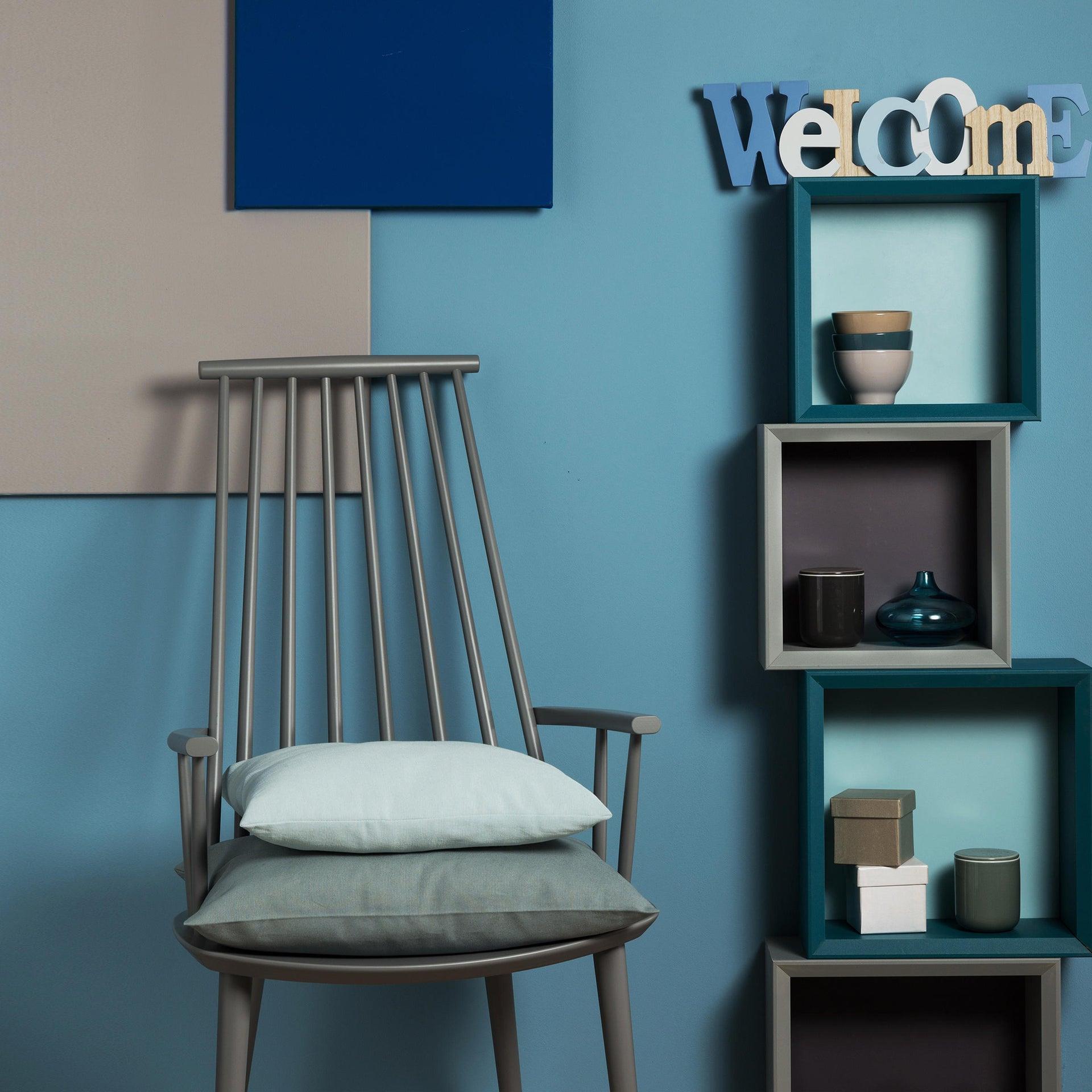 Cuscino INSPIRE Lea azzurro 40x40 cm - 3