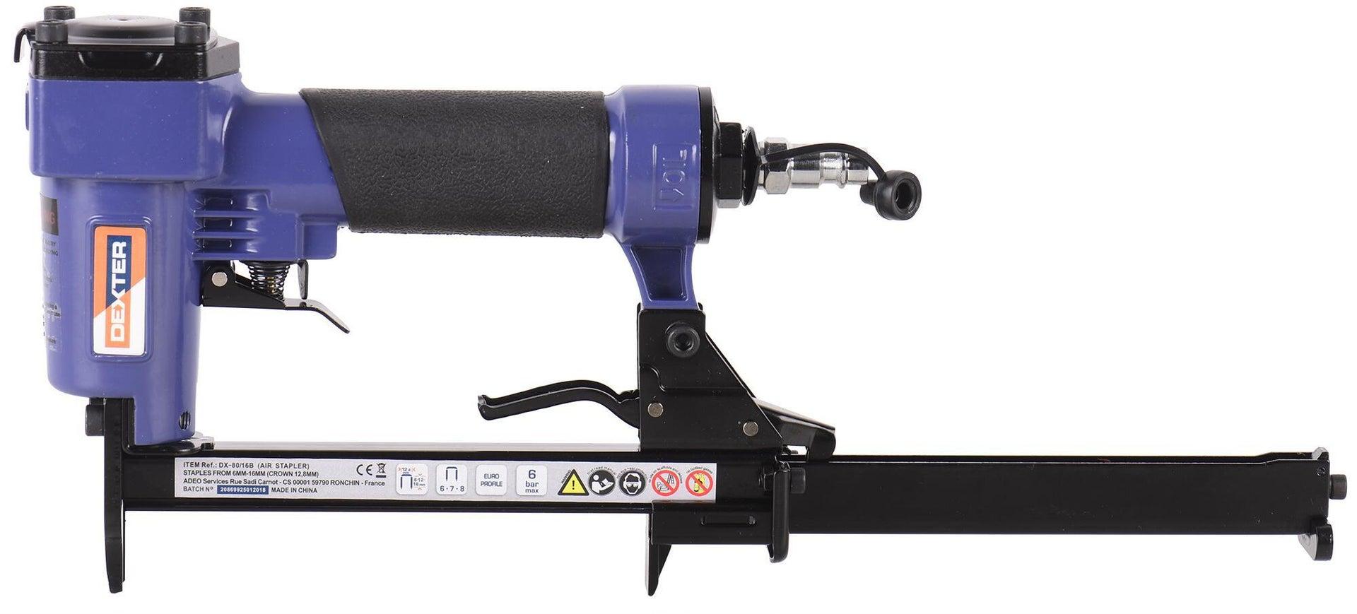 Graffatrice pneumatica DEXTER 6 bar - 10