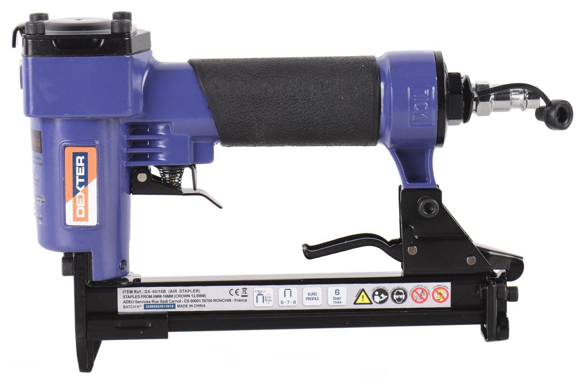 Graffatrice pneumatica DEXTER 6 bar - 14