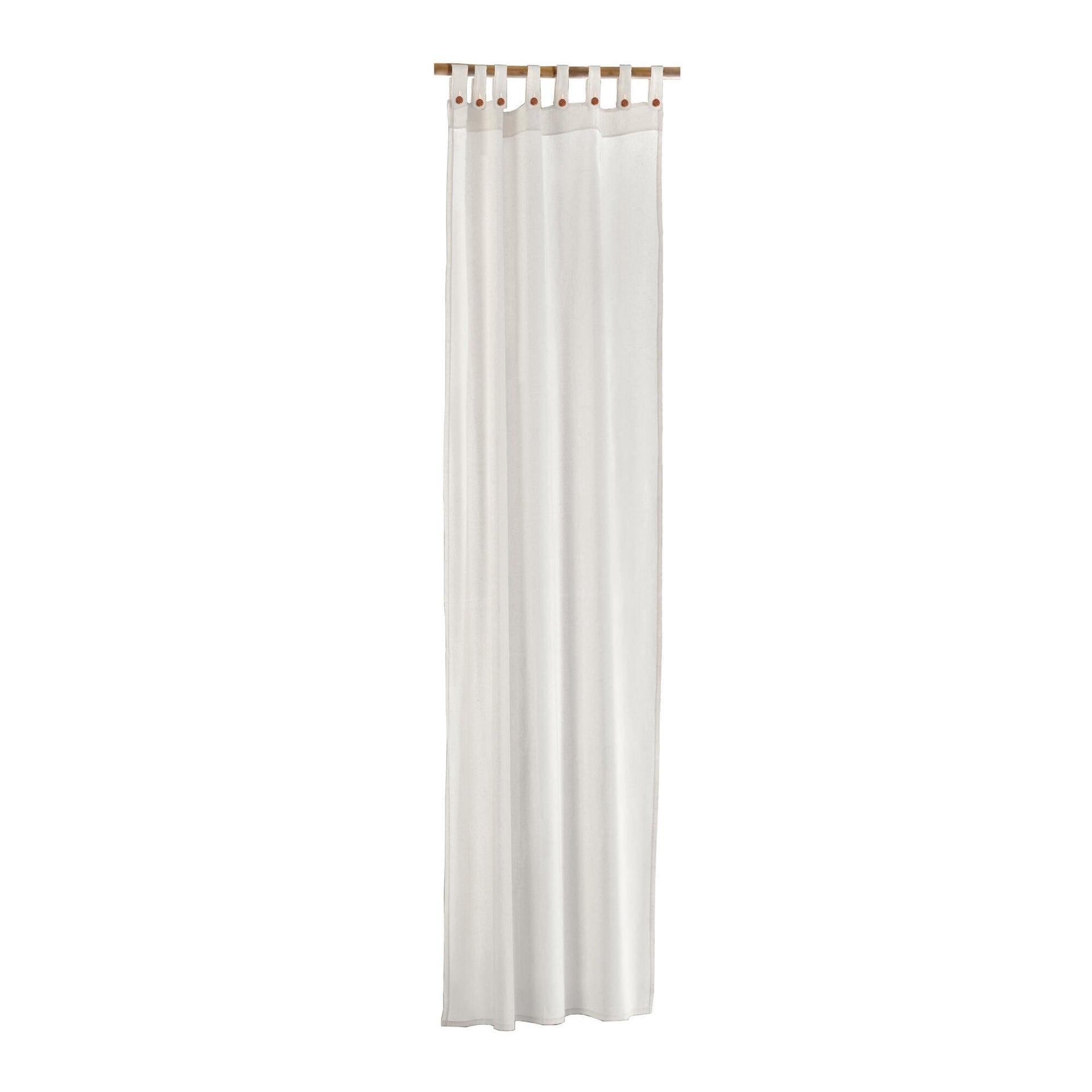 Tenda Gazebo bianco con passanti 140 x 280 cm - 4