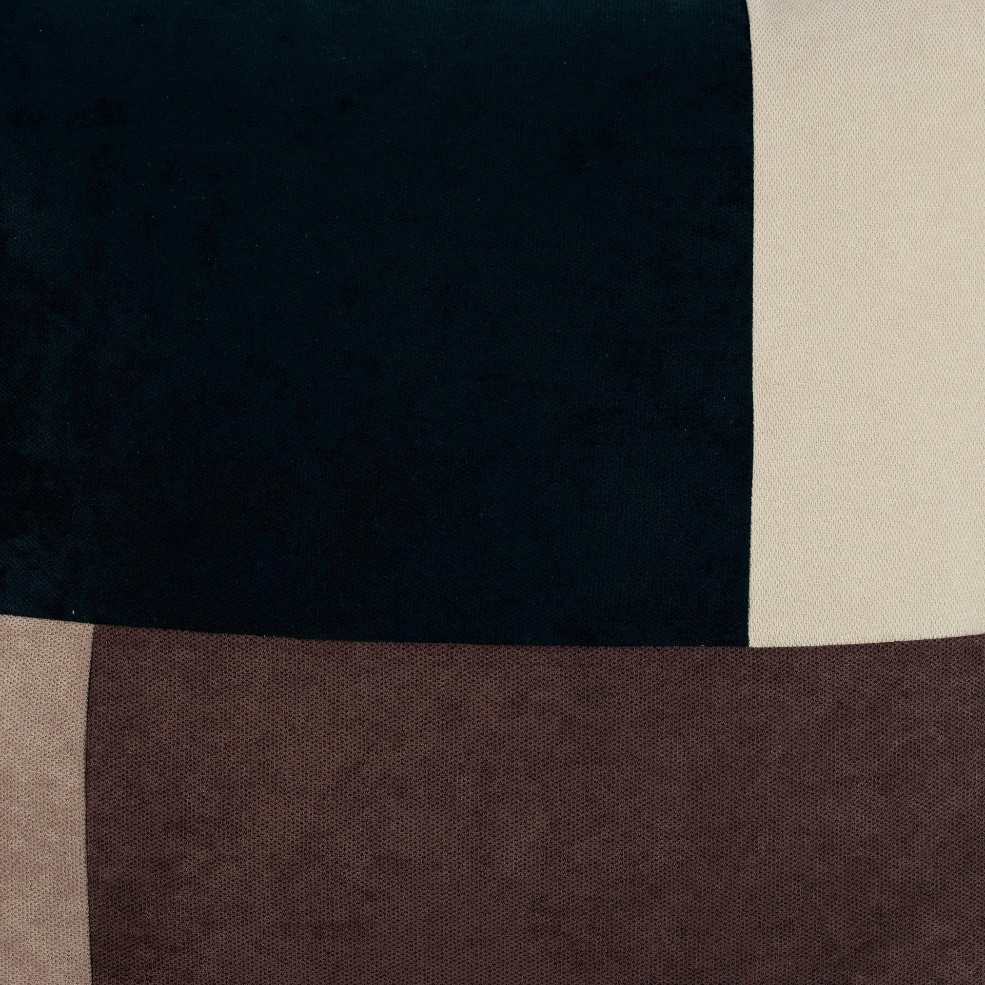 Cuscino Patchwork marrone 60x60 cm - 3