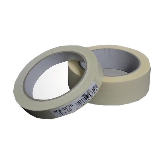 Nastro per mascheratura 50 m x 19 mm superfici lisce - 1