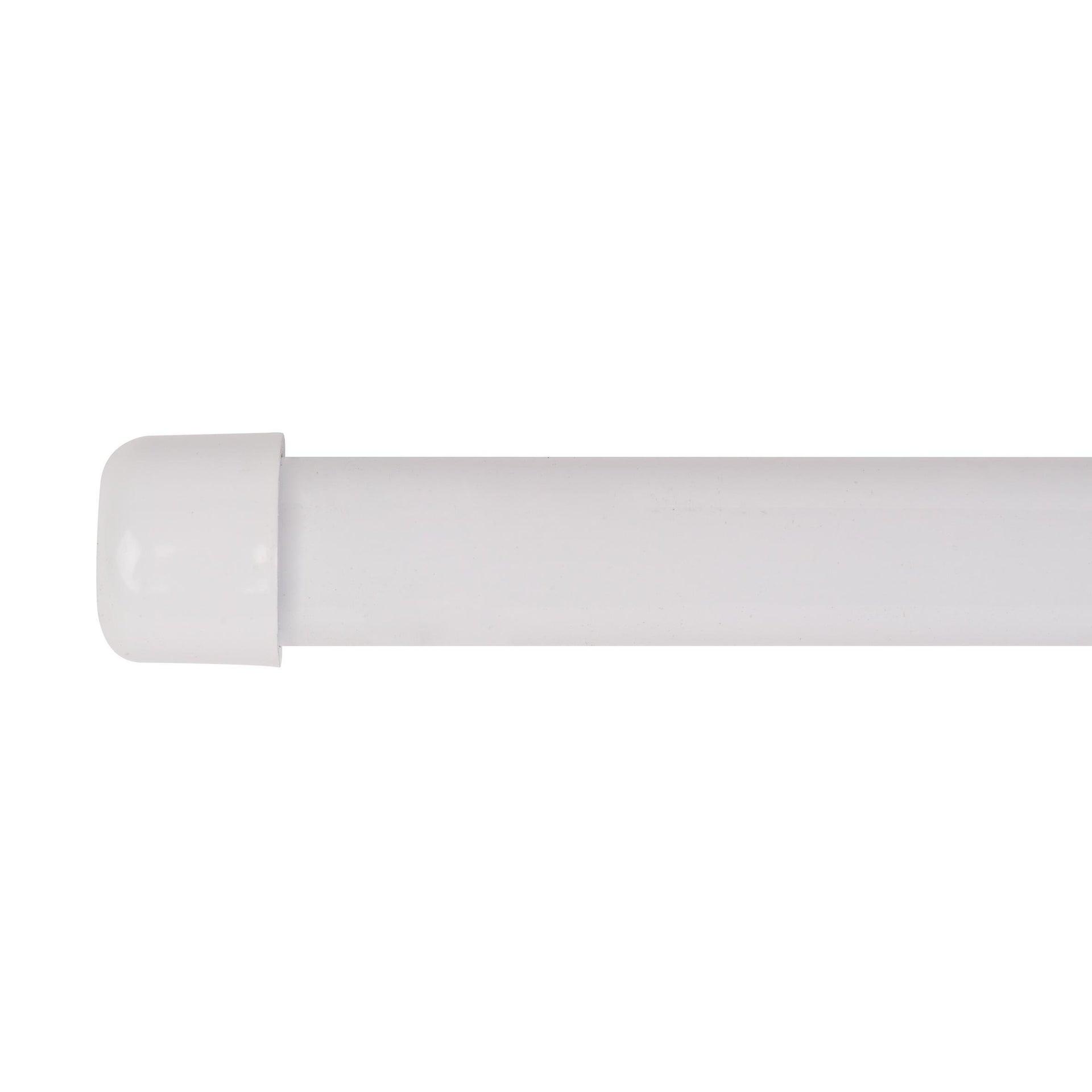 Finale per bastone Nilo tappo in metallo Ø20mm bianco lucido INSPIRE Set di 2 pezzi - 7