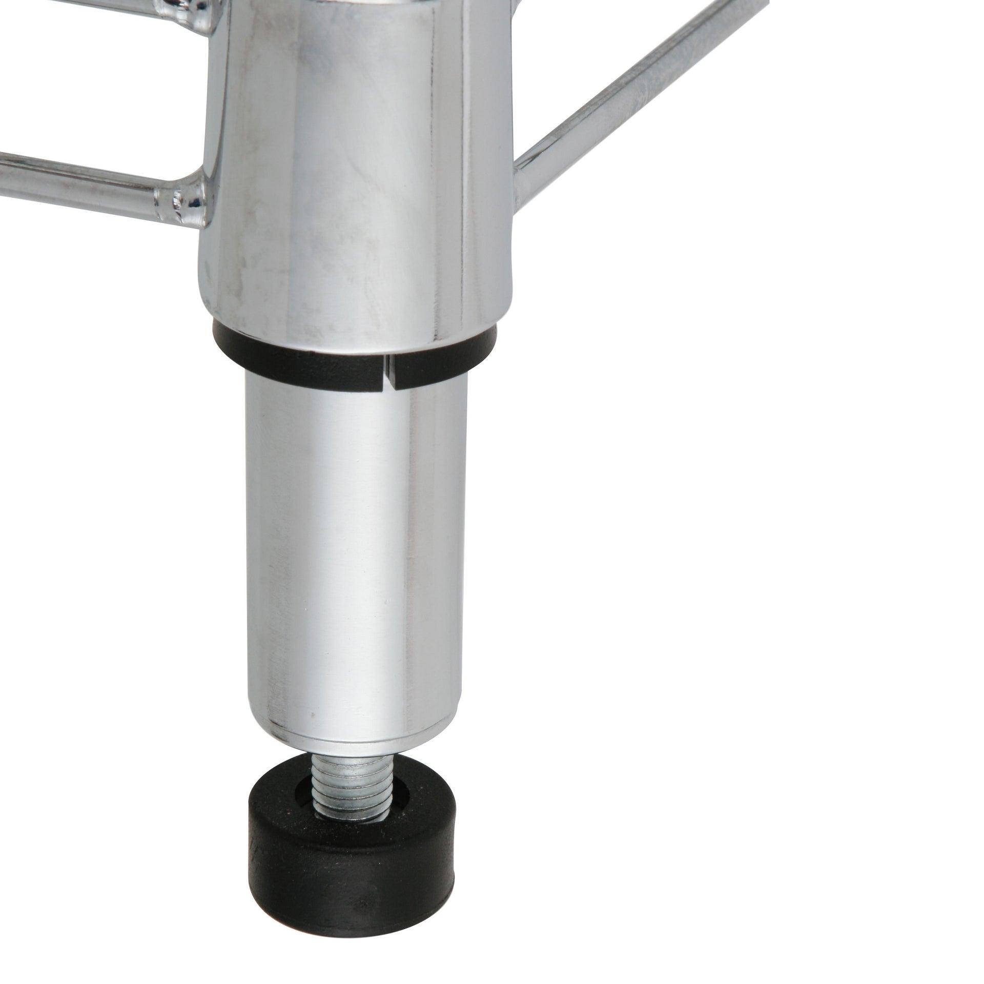Scaffale in metallo Spaceo Chrome Style+ L 60 x P 35 x H 90 cm - 2