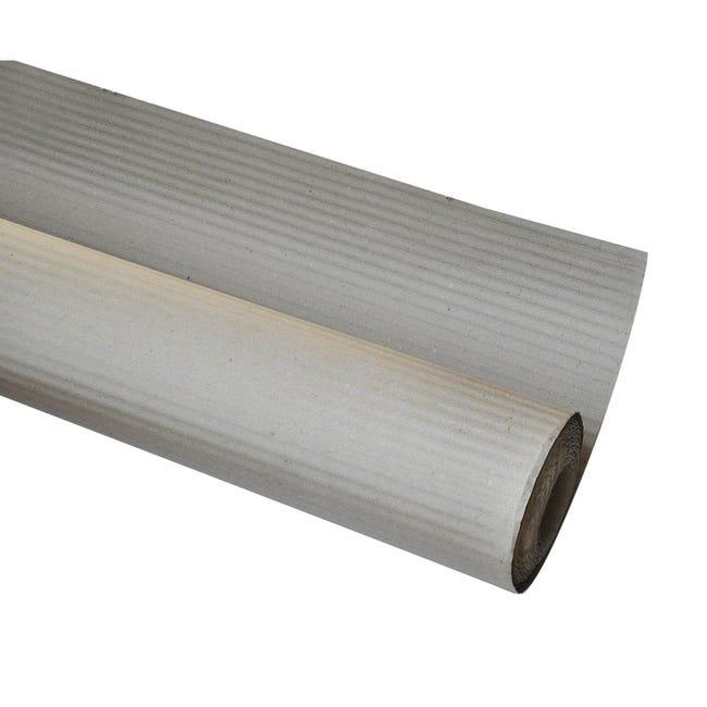 Cartone di protezione dalla pittura DEXTER ondulato 45 X 1 m grigio - 1