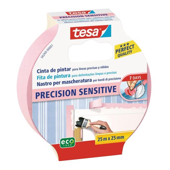 Nastro mascherante TESA Precision Sensitive 25 m x 25 mm superfici delicate - 1