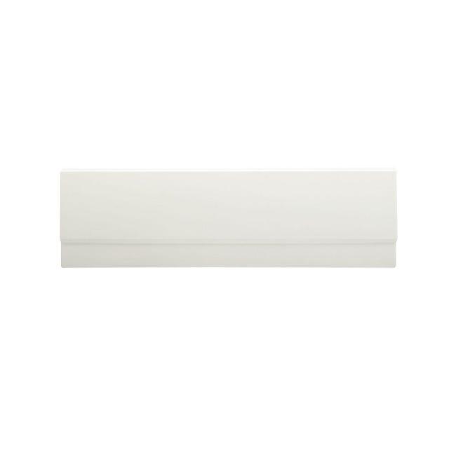 Pannello di rivestimento vasca frontale e laterale acrilico bianco L 180 x H 50 cm - 1