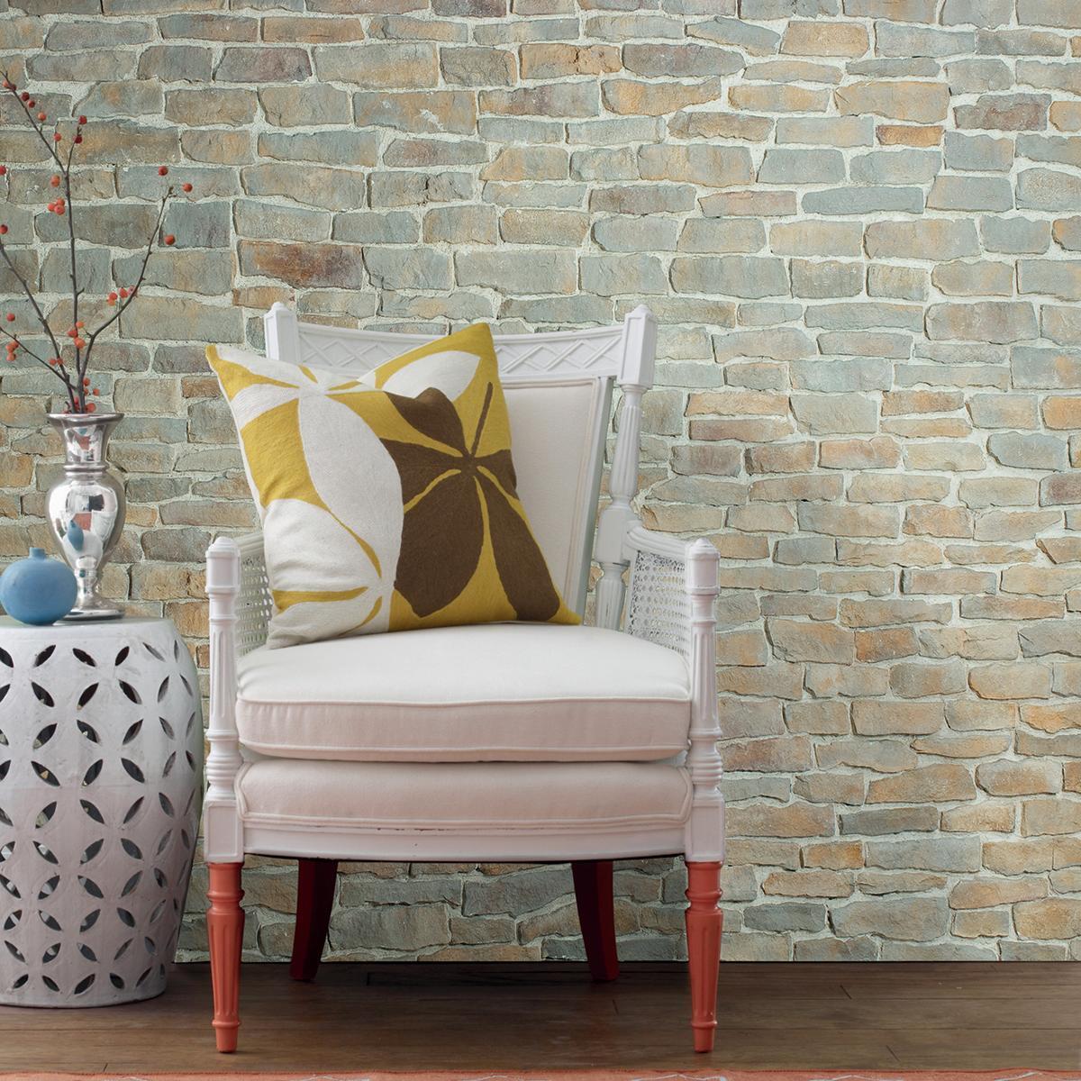 Rivestimento decorativo Bourgogne grigio e beige - 1