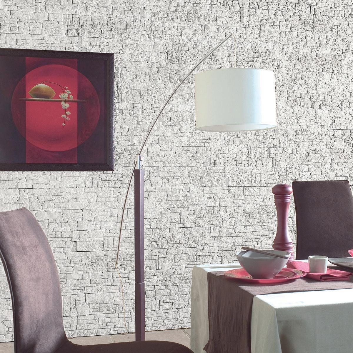 Rivestimento decorativo Chamonix bianco - 1