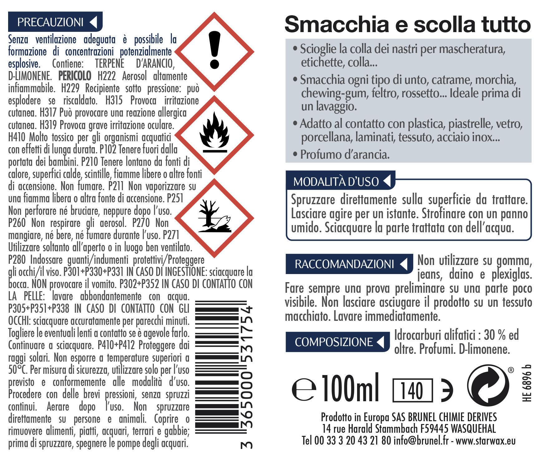 Rimuovi colla Smacchia e scolla tutto 100 ml - 2