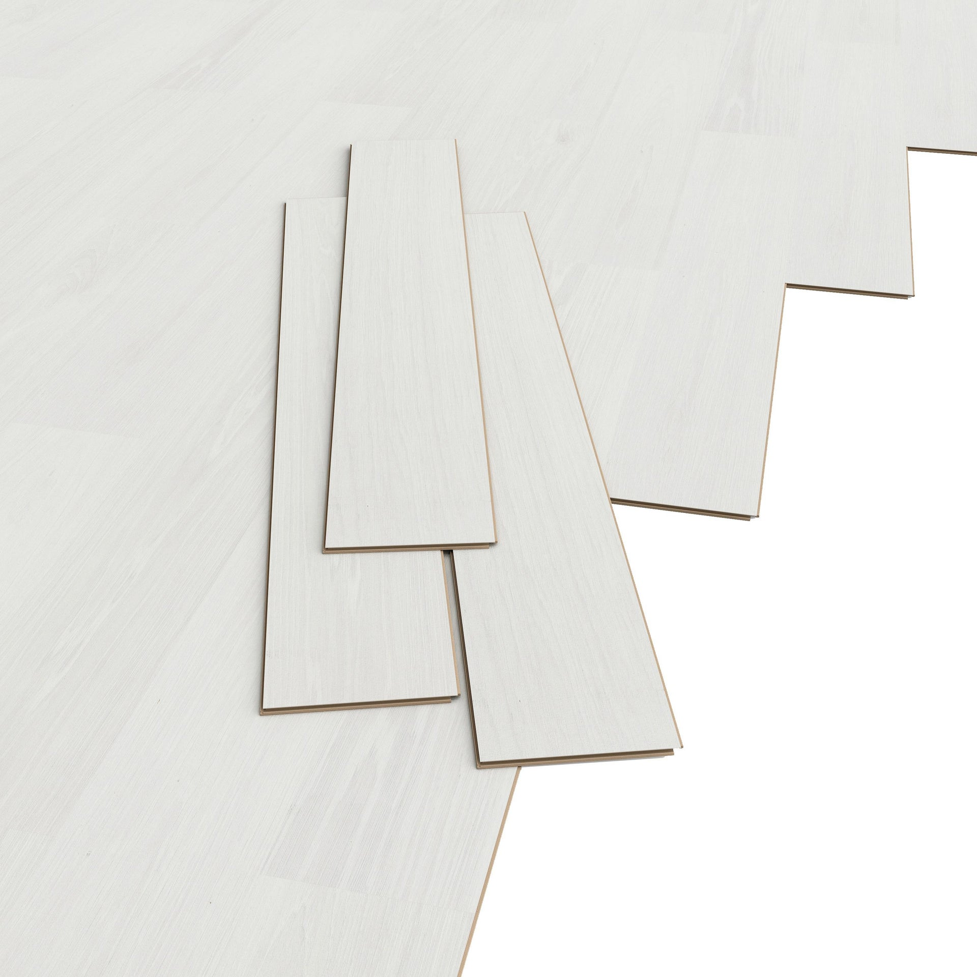 Pavimento laminato Vasa Sp 7 mm bianco - 3