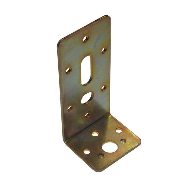Piastra angolare STANDERS in acciaio zincato L 110 x Sp 3 x H 50 mm - 1