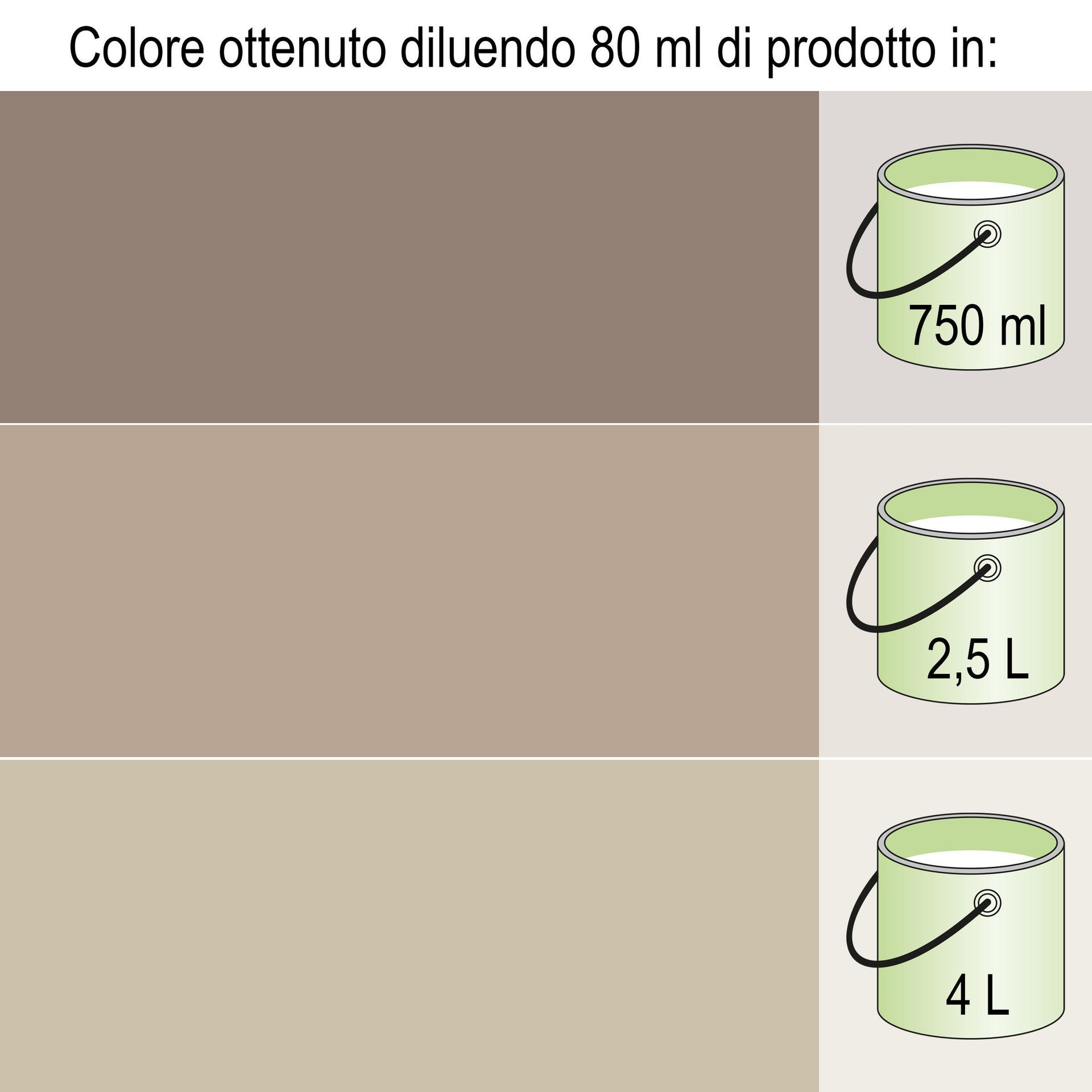Colorante liquido Luxens 20 ml marrone bruno - 5