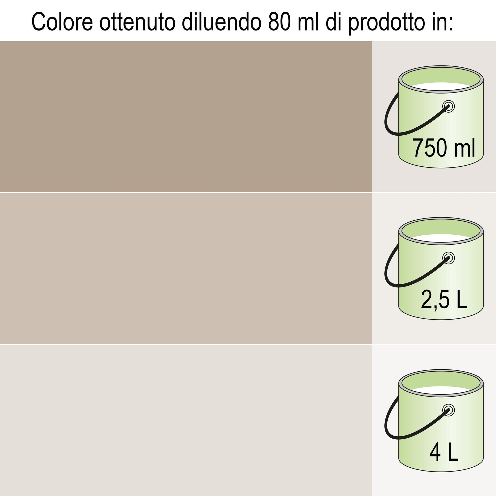 Colorante liquido LUXENS 40 ml marrone ossido - 4