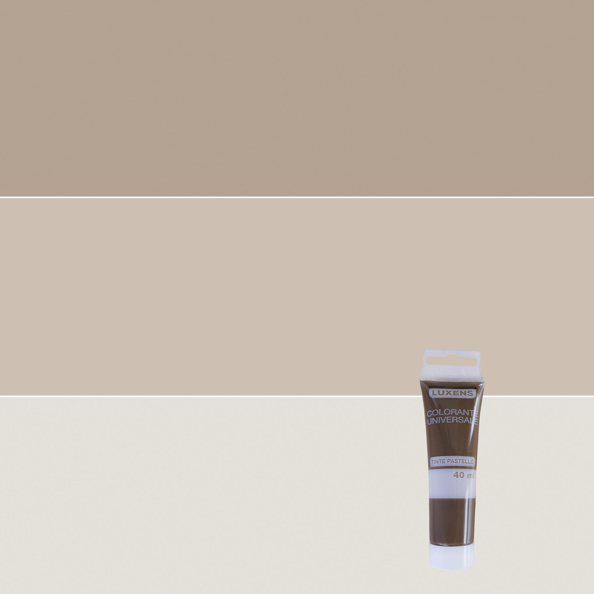 Colorante liquido LUXENS 40 ml marrone ossido - 1