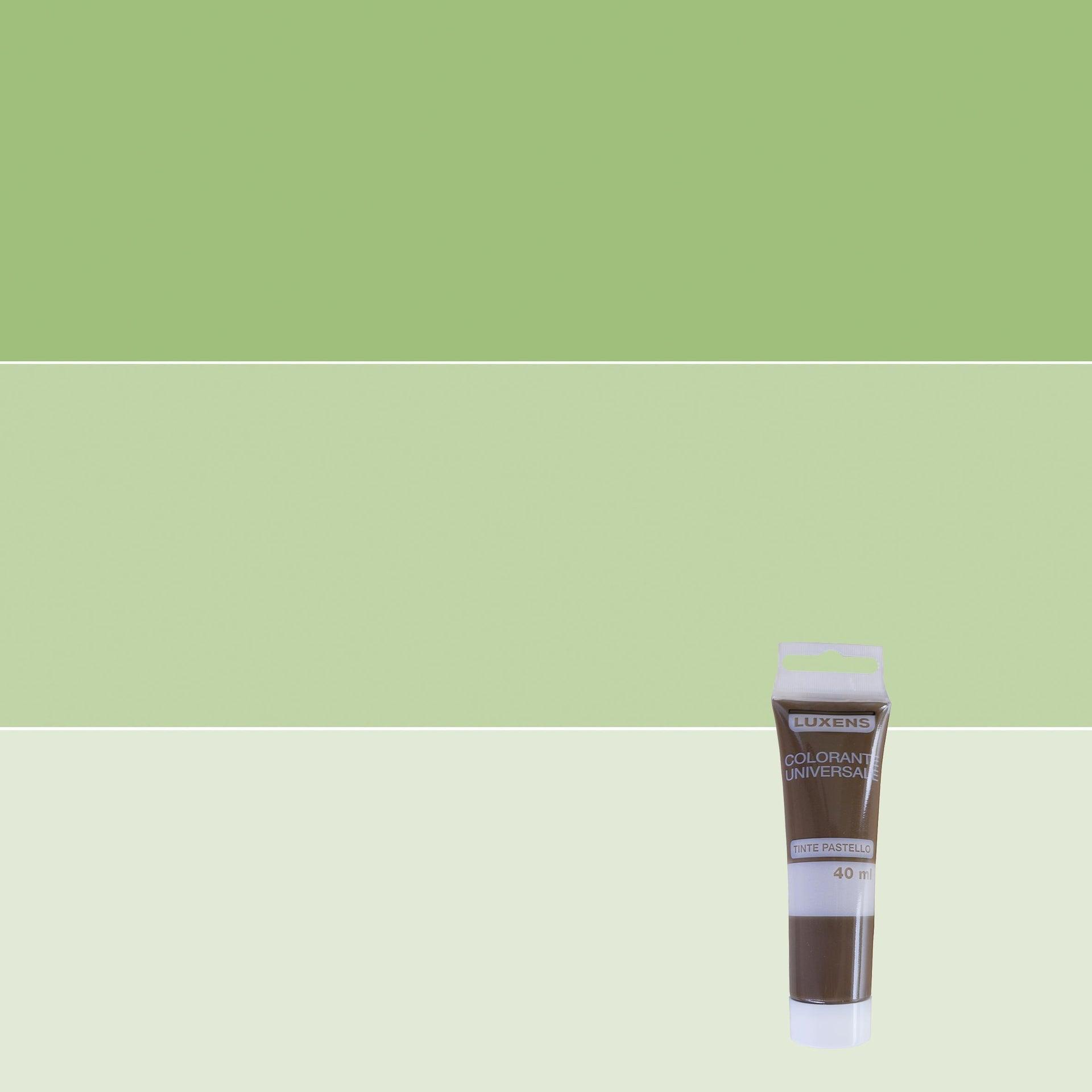 Colorante liquido LUXENS 40 ml verde prato - 1