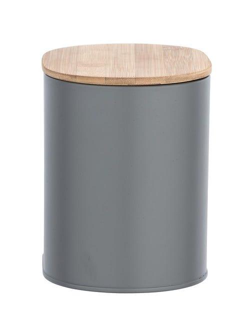 Porta cotone Gara in acciaio grigio WENKO - 1