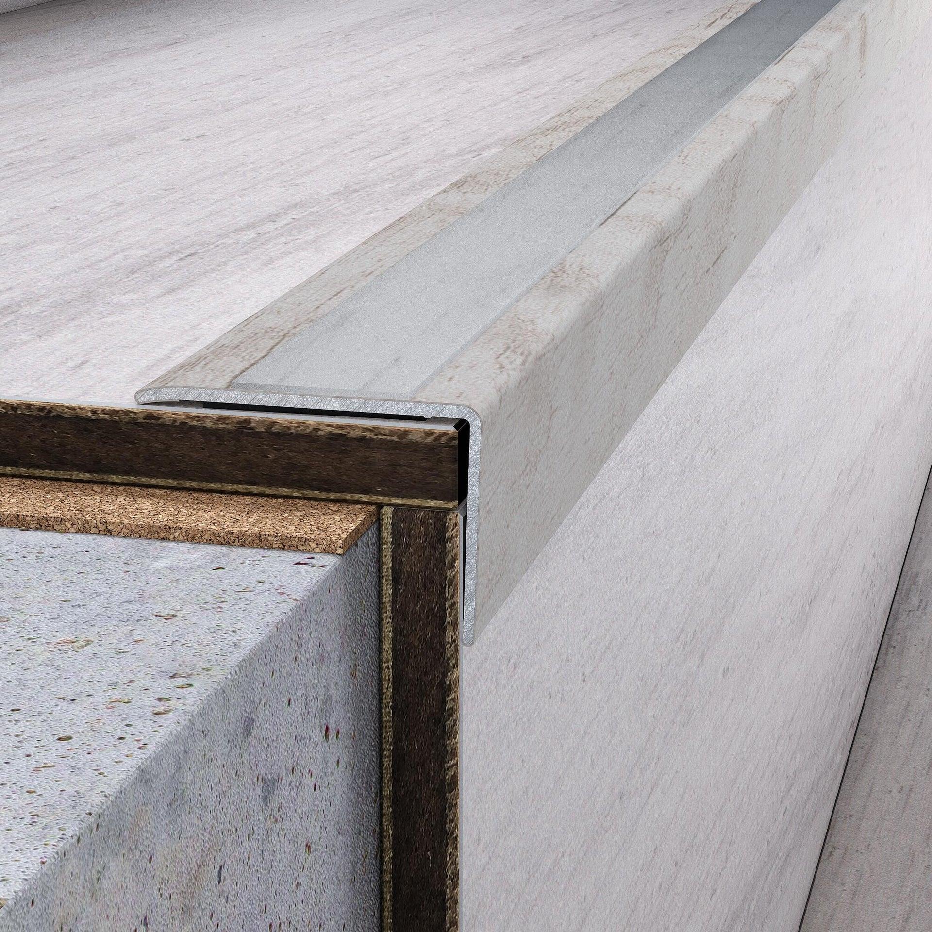 Profilo soglia simple-fix 38 36 mm x 95 cm - 5