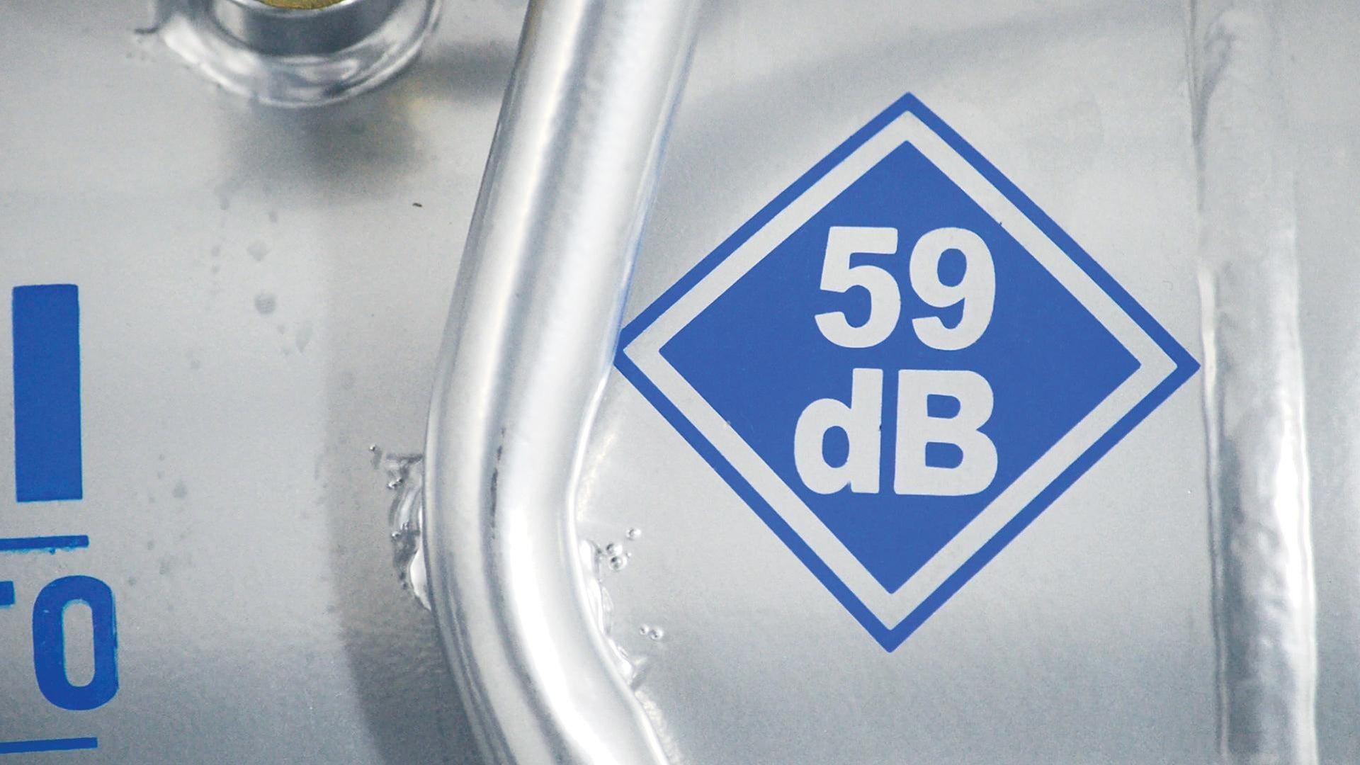 Compressore silenziato HYUNDAI Supersilent, 1 hp, 8 bar, 24 L - 4