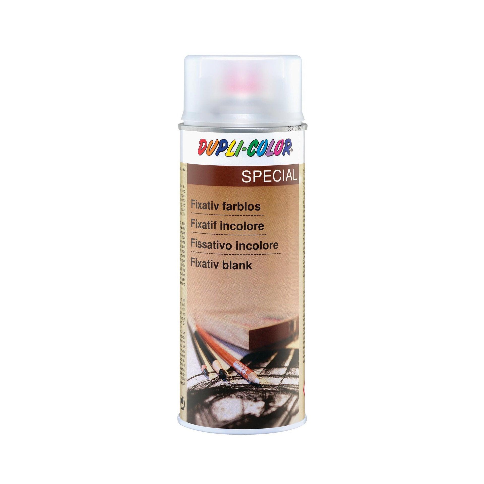 Smalto spray Fissativo universale trasparente opaco 0.4 L